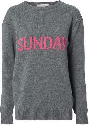 Alberta Ferretti Sunday Grey Sweater