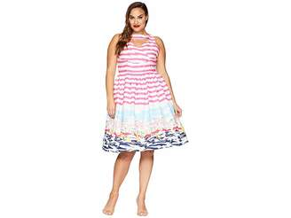 Unique Vintage Plus Size Shelly Swing Dress Women's Dress