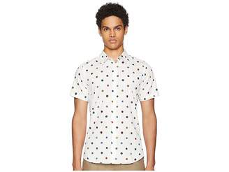 Paul Smith Short Sleeve Poka Dot Shirt