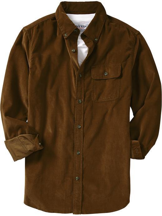 Old Navy Men's Slim-Fit Corduroy Shirts