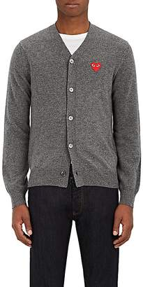Comme des Garcons Men's Wool V-Neck Cardigan