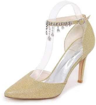 L@YC Women's Heels Summer Comfort Synthetic Wedding Party & Evening Dress Casual Stiletto High Heel