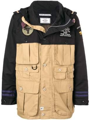 Neighborhood multi-pocket jacket
