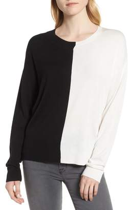 Trouve Asymmetrical Pullover Sweater