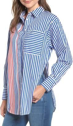 Tommy Jeans Oversize Stripe Shirt