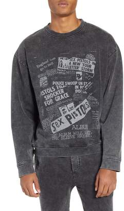 The Kooples Sex Pistols Graphic Sweatshirt