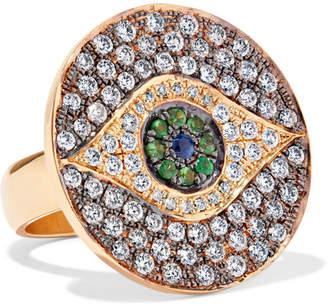 Ileana Makri Dawn 18-karat Gold Multi-stone Ring