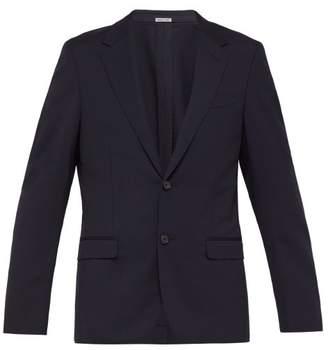 Lanvin Wool Blend Jacket - Mens - Navy