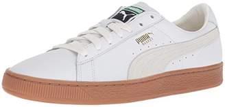 Puma Men's Basket Classic Gum Deluxe Sneaker