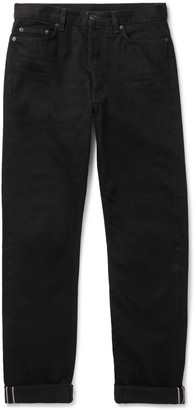 The Row Bryan Selvedge Denim Jeans - Men - Black
