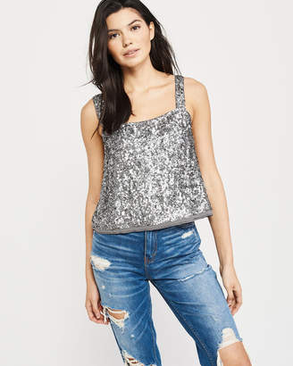 Abercrombie & Fitch Sequin Cami