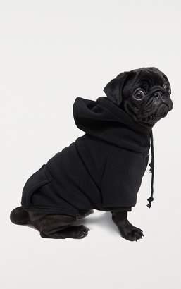 PrettyLittleThing Black Doggy Hoodie