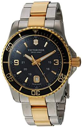 Victorinox Men's 'Maverick' Swiss Quartz Stainless Steel Casual Watch