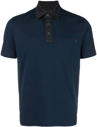 Prada pocket polo shirt