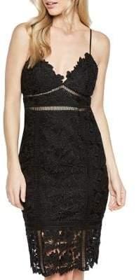 Bardot Botanica Body-Con Lace Dress