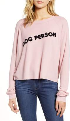 Wildfox Couture Monte Dog Person Thermal Top