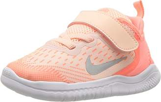new product 34008 9aaf3 Nike Girls Free Rn 2018 (TDV) Track   Field Shoes, Multicolour Tint