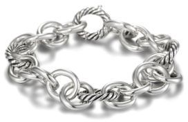 David Yurman Round and Oval Link Bracelet $475 thestylecure.com