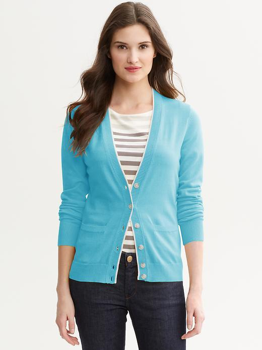 Banana Republic Tipped cardigan
