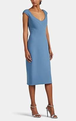 Zac Posen Women's Cady Sheath Dress - Blue