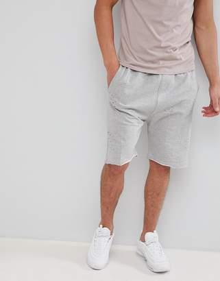 Soul Star jersey oversized shorts