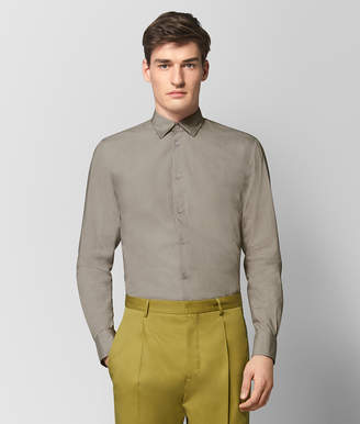 Bottega Veneta DARK CEMENT COTTON SHIRT