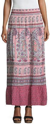 Liz Claiborne Printed Maxi Skirt