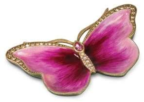 Jay Strongwater Great Gifts Butterfly Trinket Tray