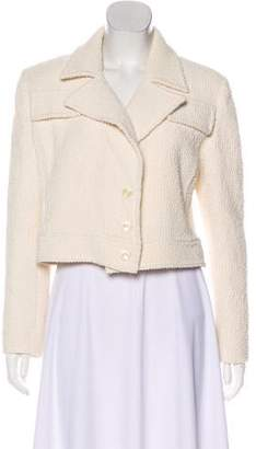 Valentino Structured Cropped Jacket