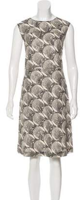Marni Sleeveless Lace Dress Grey Sleeveless Lace Dress