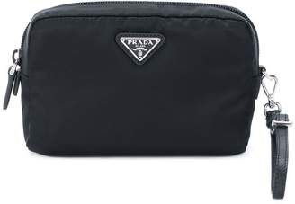 Prada logo beauty case