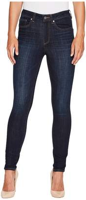 Vince Camuto Indigo Denim Five-Pocket High Waisted Jeans in Dark Vintage Women's Jeans