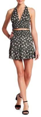 Honeybelle Honey Belle Floral Print Flounce Skirt