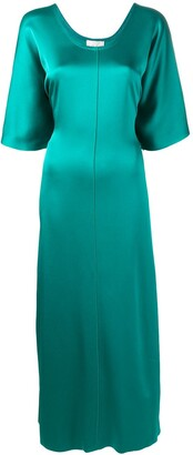 Forte Forte long straight fit dress