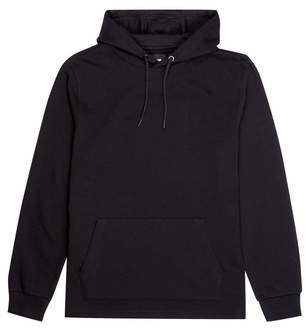 Burton Mens Black Overhead Hoodie with Side Zip
