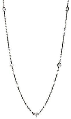 Eva Fehren Women's Diamond Necklace - White