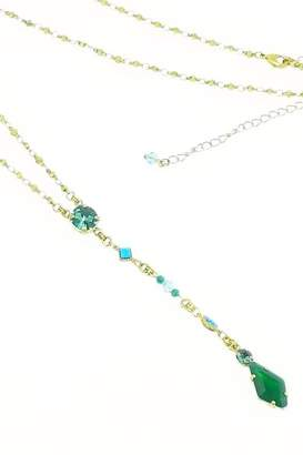 Sorrelli Crystal Y Necklace