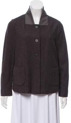 Fabiana Filippi Wool Button Up Jacket