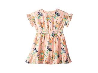 Janie and Jack Woven Floral Dress (Toddler/Little Kids/Big Kids)