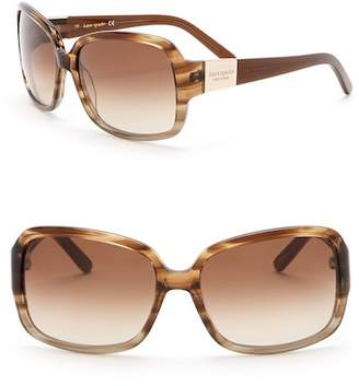 Kate Spade Lulu 55mm Sunglasses