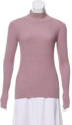 Rebecca Taylor Metallic Rib Knit Sweater w/ Tags