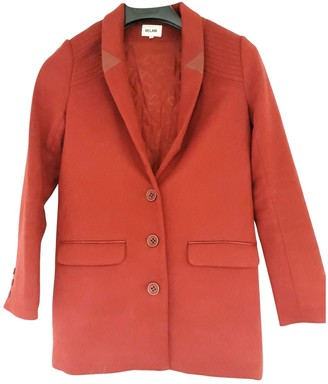 Bel Air Red Cotton Jacket for Women