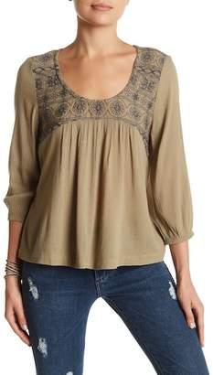 SUSINA Peasant Blouse (Petite) $26.97 thestylecure.com
