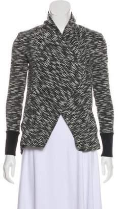 Ellen Tracy Knit Open Front Cardigan Grey Knit Open Front Cardigan