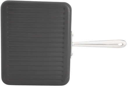 All-Clad Hard Anodized Non-Stick Panini Pan with Press