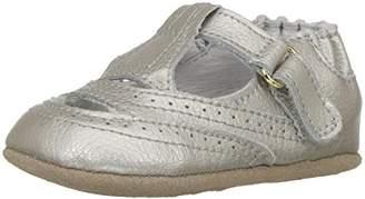 Robeez Girls' Catherine White-K Crib Shoe