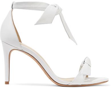 Alexandre Birman - Clarita Bow-embellished Leather Sandals - White