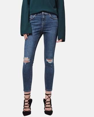 PETITE Ripped Jamie Jeans