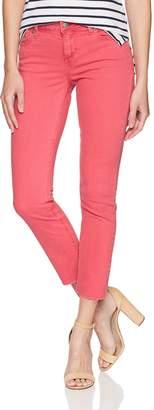 Lucky Brand Women's Mid Rise Lolita Crop Cut Hem Jean