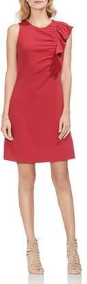 Vince Camuto Asymmetric Ruffle-Detail Dress